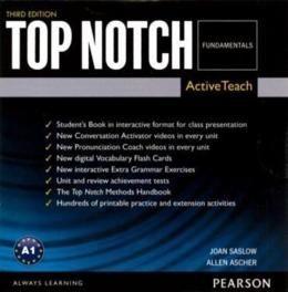 TOP NOTCH FUNDAMENTALS ACTIVE TEACH DVD-ROM - 3RD ED