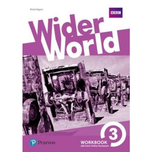 Wider World 3 Wb With Ol Hw Pack: Workbook With Online Homework Pack