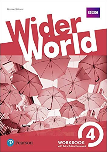 Wider World 4 Wb With Ol Hw Pack: Workbook With Online Homework Pack