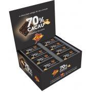 CHOCOLATE 70% CASTANHA PARÁ COM AÇÚCAR 70 CACAU 14GR DP