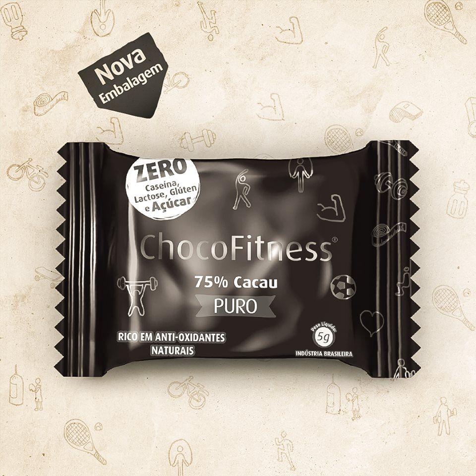 CHOCOFITNESS 75 CACAU PURO 5G DP 50 UNID