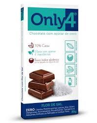 ONLY4 FLOR DE SAL 80G DP 06 UNID