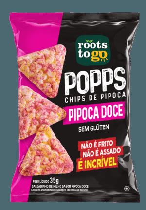 ROOTS POPS PIPOCA DOCE 35GR