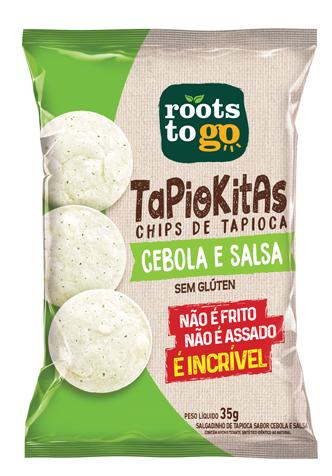 ROOTS TAPIOKITAS CEBOLA E SALSA 35GR