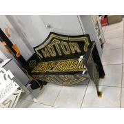 Banco Harley-Davidson 1,25m Preto com Laranja
