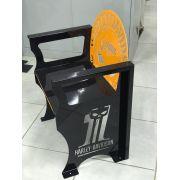 Poltrona SKULL Harley-Davidson 0,65 m Preta/Laranja