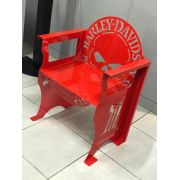 Poltrona SKULL Harley-Davidson 0,65 m Vermelha