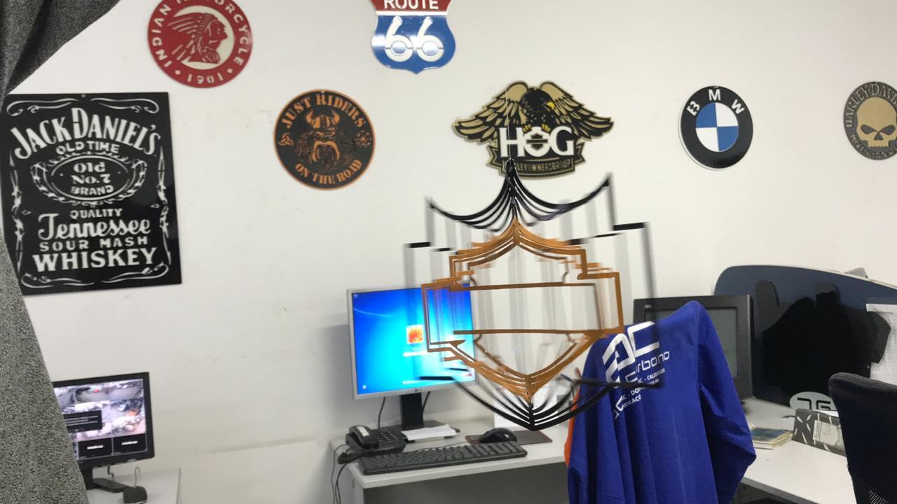 Móbile Harley-Davidson Bar and Shield  - HDC Brasil