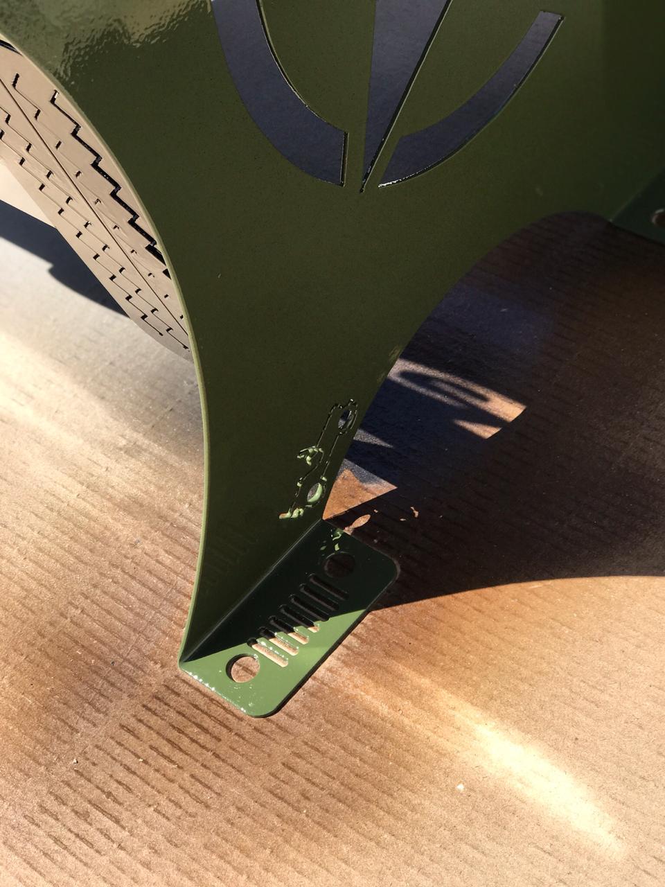 Poltrona JEEP 0,70 m Verde Militar  - HDC Brasil