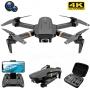 Drone Dobravel Fpv 1080p 4k V4 Richie Até 20min De Voo