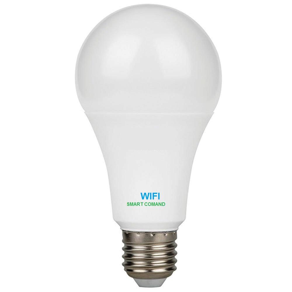Lampada Inteligente 15w Bivolt Luz Led Quente Frio Google Alexa Wifi