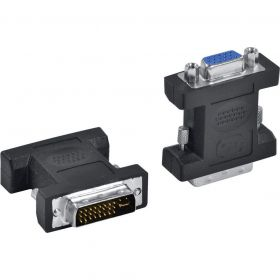 Adaptador DVI-I (Macho) x VGA (Fêmea) - Vinik