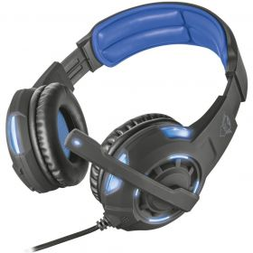 Headset Gamer -  Trust GXT 350 - Radius - Som Surround Virtual 7.1
