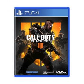 Jogo Call of Duty: Black Ops 4 - PS4 - Seminovo