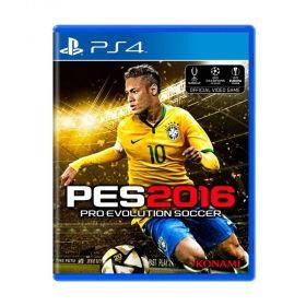 Jogo Pro Evolution Soccer 2016 (PES 16) - PS4 - Seminovo