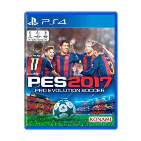 Jogo Pro Evolution Soccer 2017 (PES 17) - PS4 - Seminovo