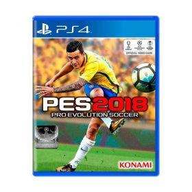 Jogo Pro Evolution Soccer 2018 (PES 18) - PS4 - Seminovo