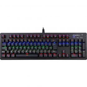 Teclado Gamer Mecânico K5 RGB Preto - FORTREK