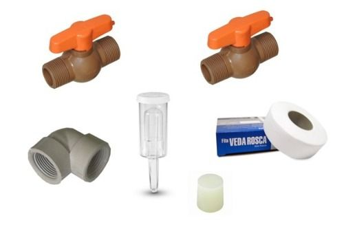 Kit Acessórios Para Fermentador Cônico / Damek / Simples