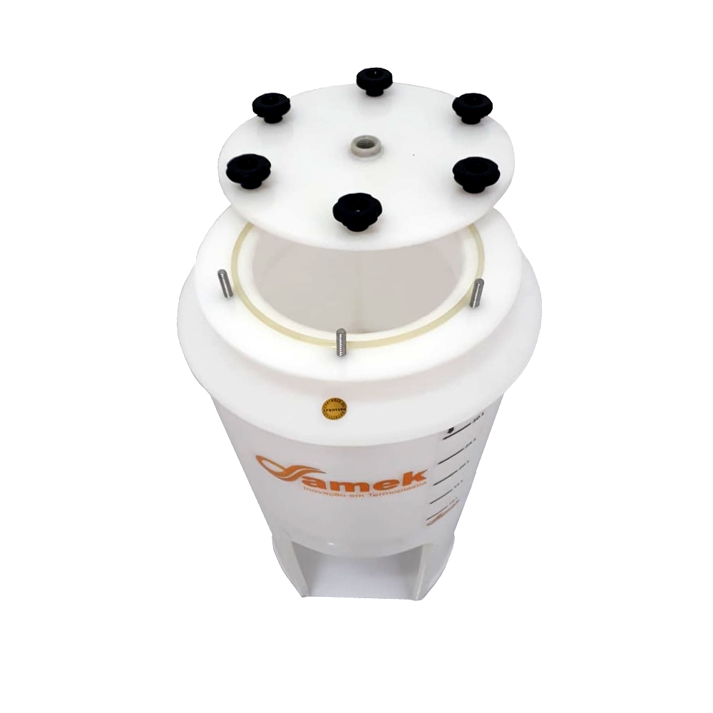 Fermentador Cônico 60° Para Geladeira / 100 Litros