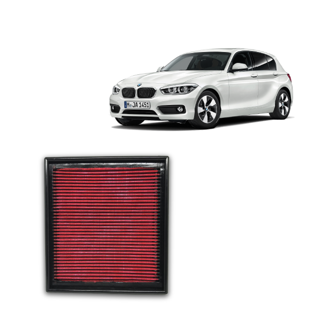 Filtro De Ar Alta Performance Bmw 116i 1.6 16v Turbo 2012->