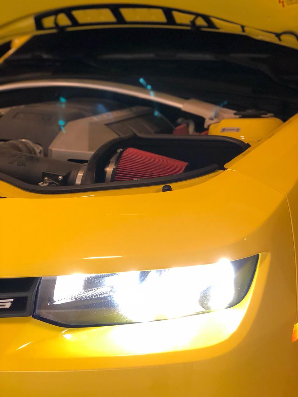 Filtro De Ar Alta Performance para Intake Camaro V8 2010 em diante