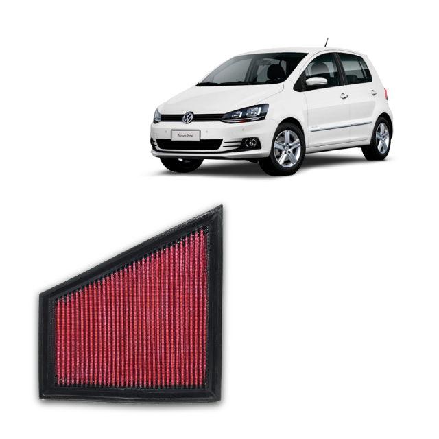 Filtro De Ar Alta Performance VW FOX 1.6 VHT, ANO 2008/2014.