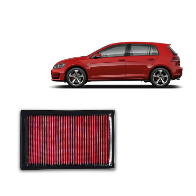 Filtro De Ar Alta Performance  VW GOLF 2.0 GTI MK7, ANO 2014 EM DIANTE.