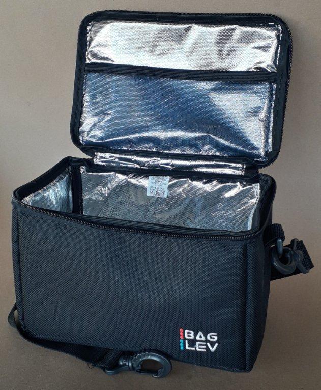 BAGLEV - 10 Bolsas Térmicas MARMITAS (Forração Aluminizada - Quente ou Frio)