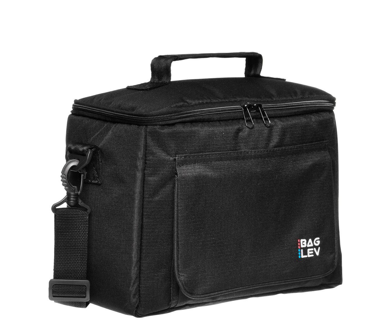 Bolsa Térmica Box Preta - Quente e frio