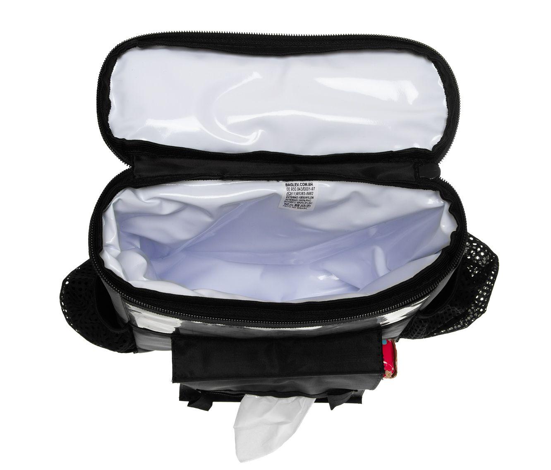 BAGLEV - Bolsa Térmica Porta Lenço p/ Banco Carro +2 Gelo Gel