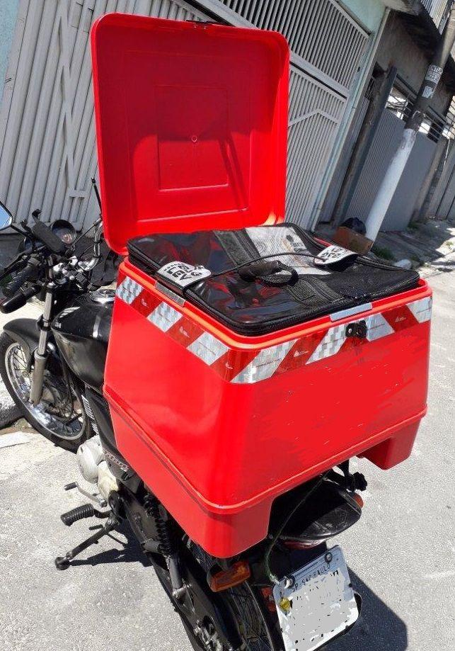 Térmica grande altura 20 cm - 35 litros  - Para Baú de Motos 92 litros