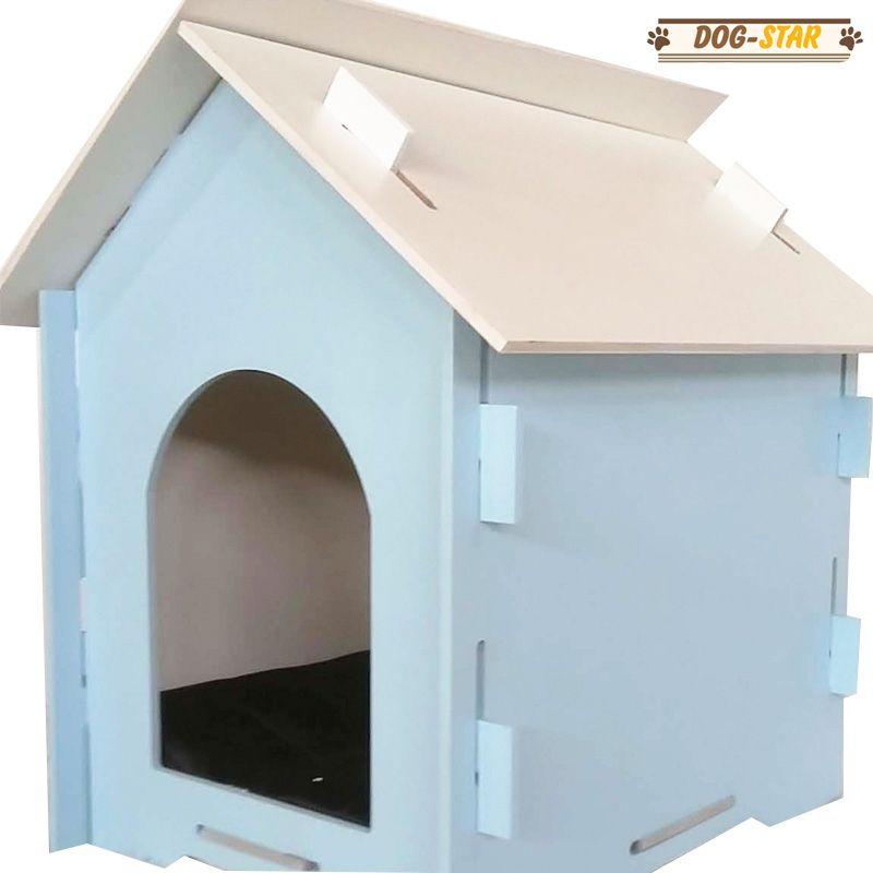 Casinha de Cachorro Desmontável em MDF