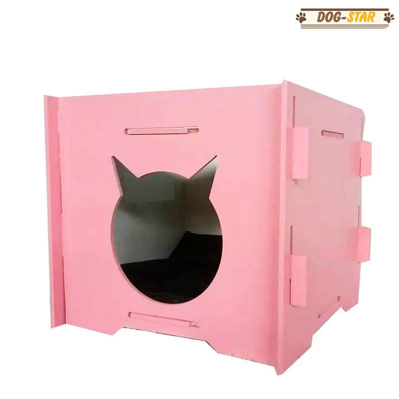 Toca para Gatos Desmontável em MDF