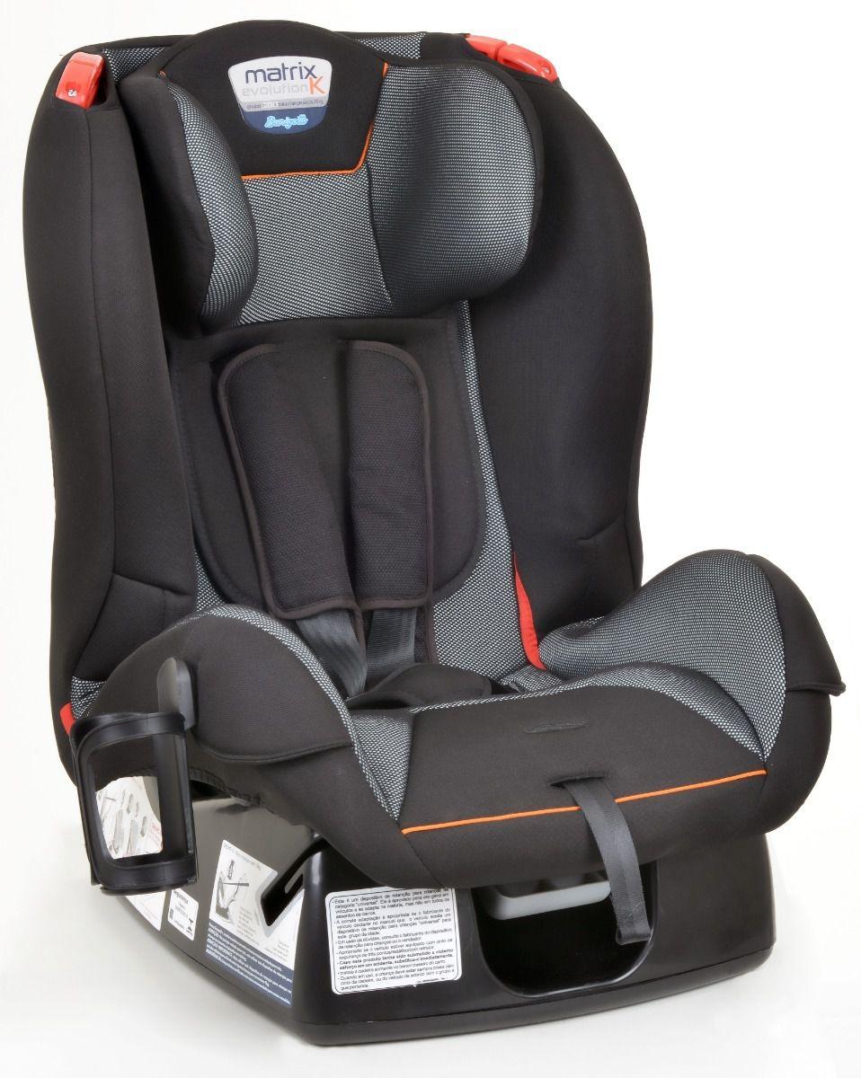 Cadeira Reclinável Burigotto Matrix Evolution Cyber Orange