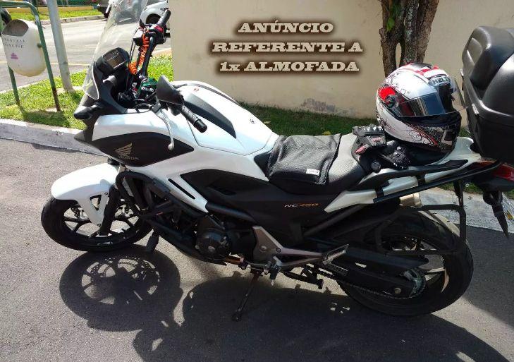 Almofada Gel Comfort Moto Impermeavel Universal Banco Menor