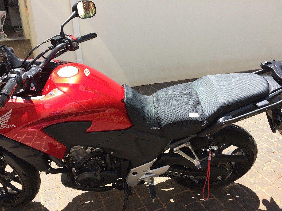 Almofada Gel Para Moto Viagem Banco Comfort Gel Universal