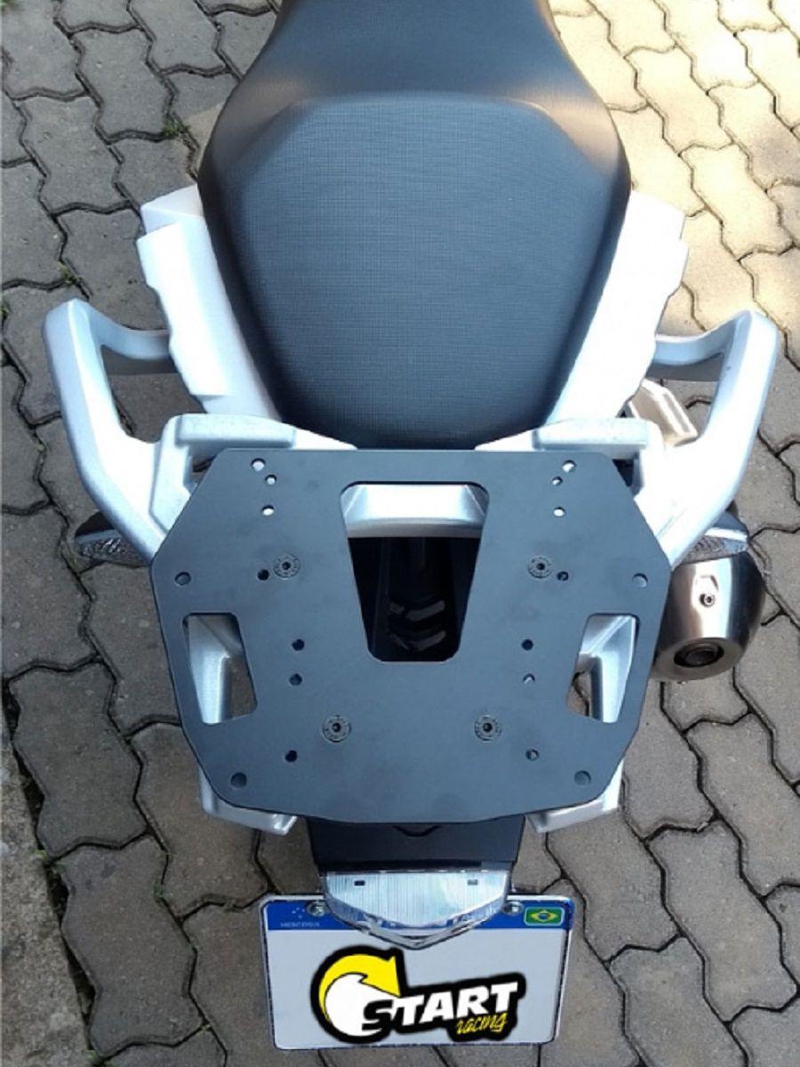 Chapa suporte bagageiro p/ bau bauleto G 310 GS BMW