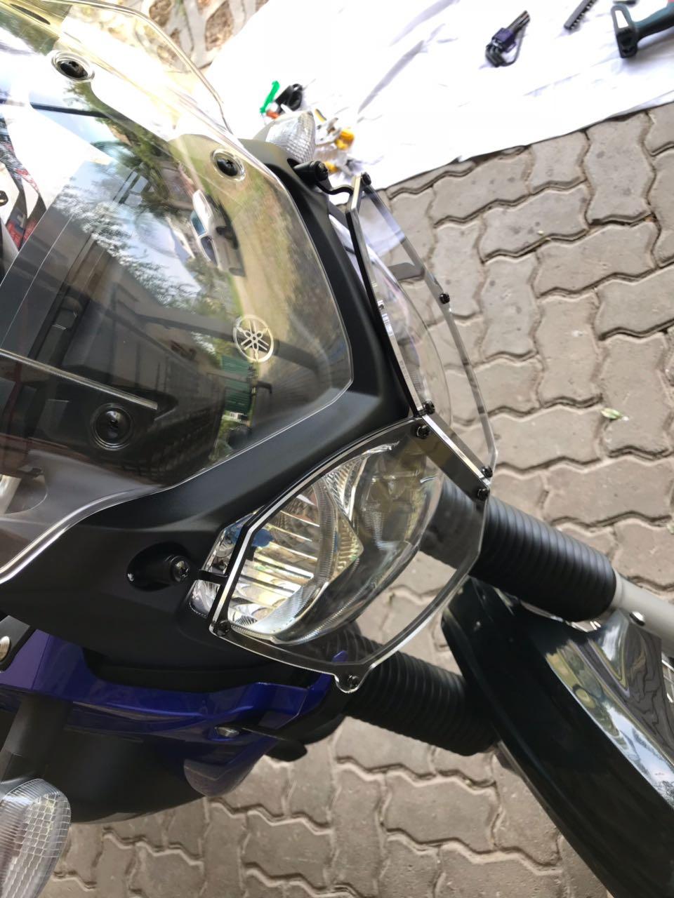 Protetor De Farol Tenere XTZ 250 Em Acrilico Todas