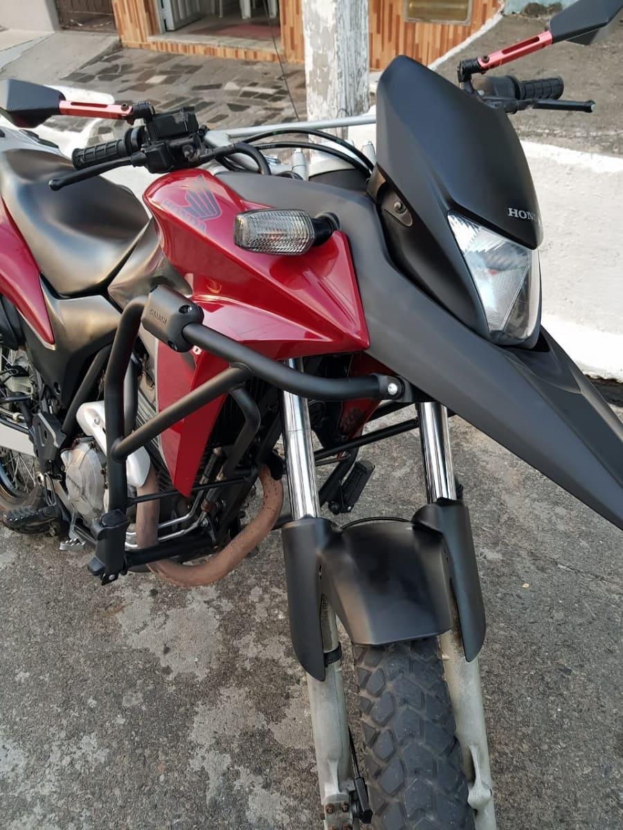 Protetor De Motor E Carenagem Xre 300 dianteiro Honda