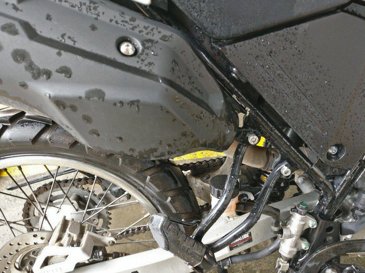 Reforço Quadro Bagageiro Chassi Teneré 250 Xtz Lander