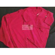 Saída de maternidade Vermelha masculina casaco