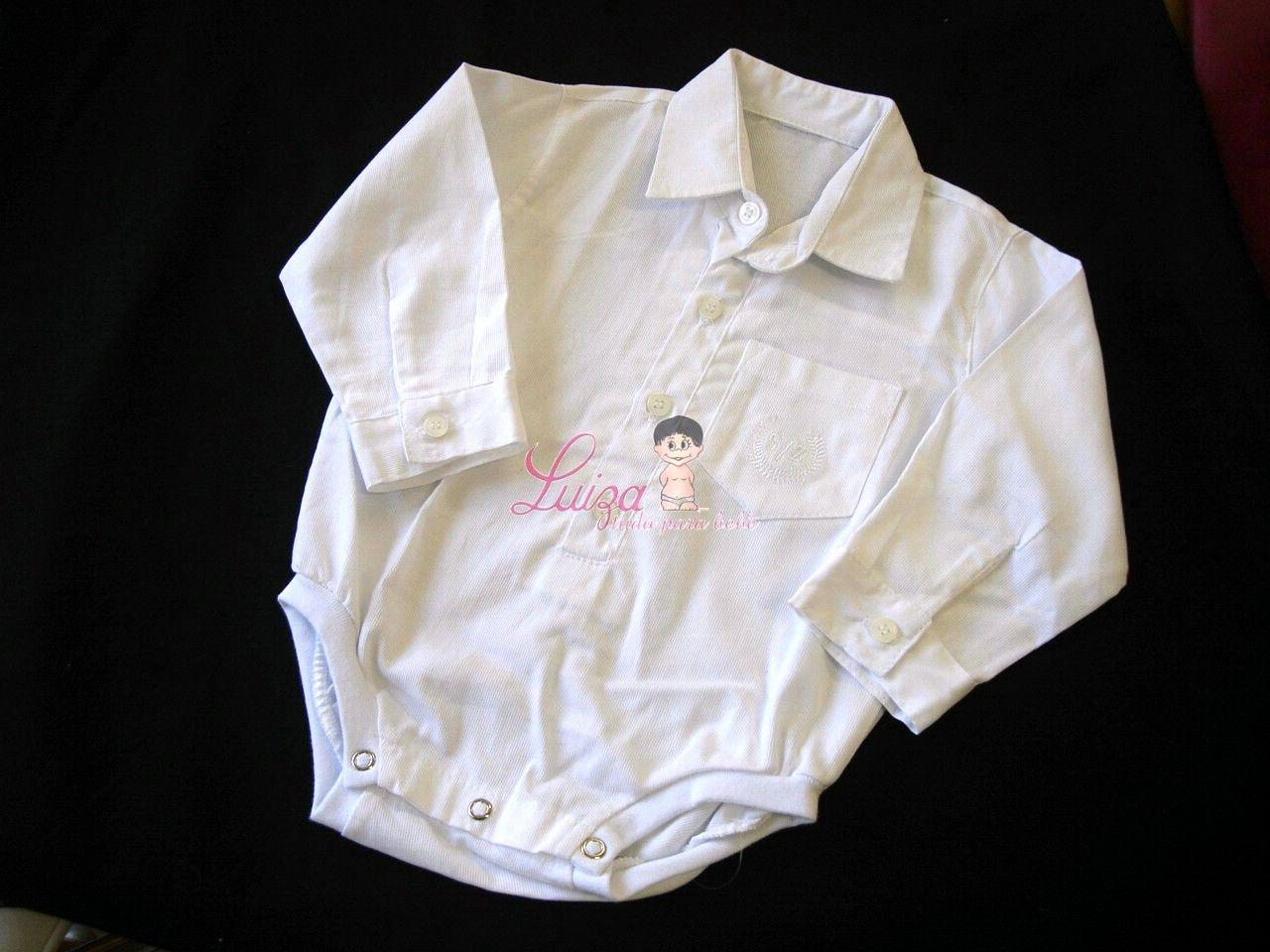 Body Camisa Bebê