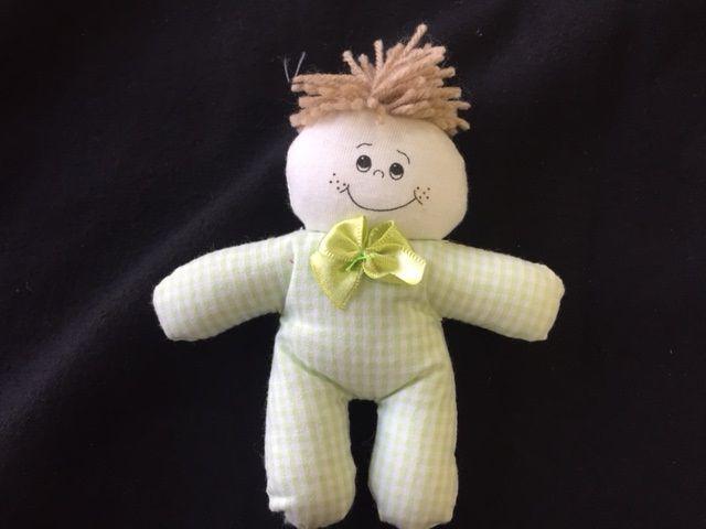 Lembrancinha Nascimento Bebê Roupa verde Xadrez