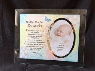 Porta Retrato Dia do seu Batizado