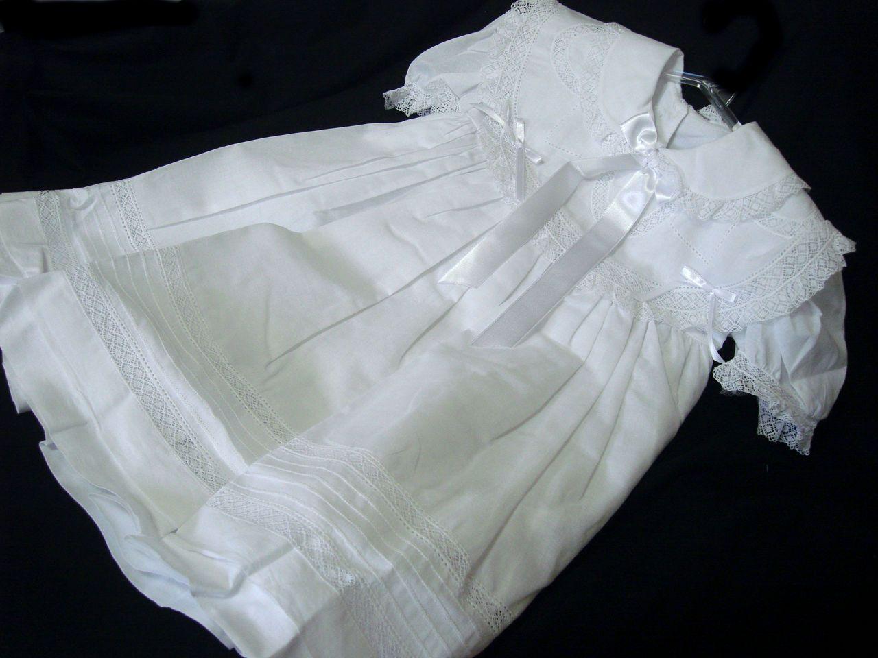 Vestido Cambraia  Camila Batizado