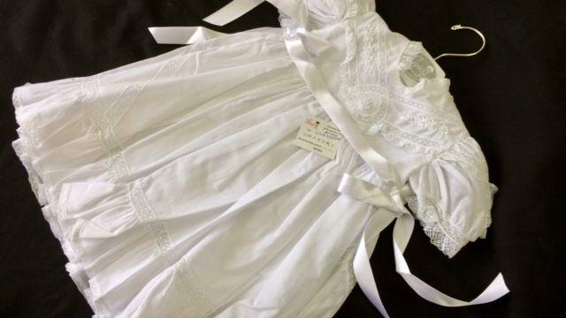 Vestido Cambraia  Heloisa Batizado