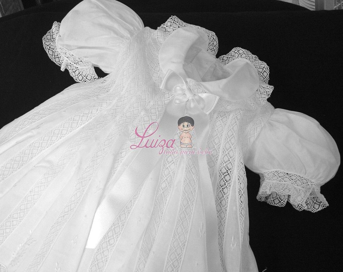 Vestido Cambraia  Irene Batizado