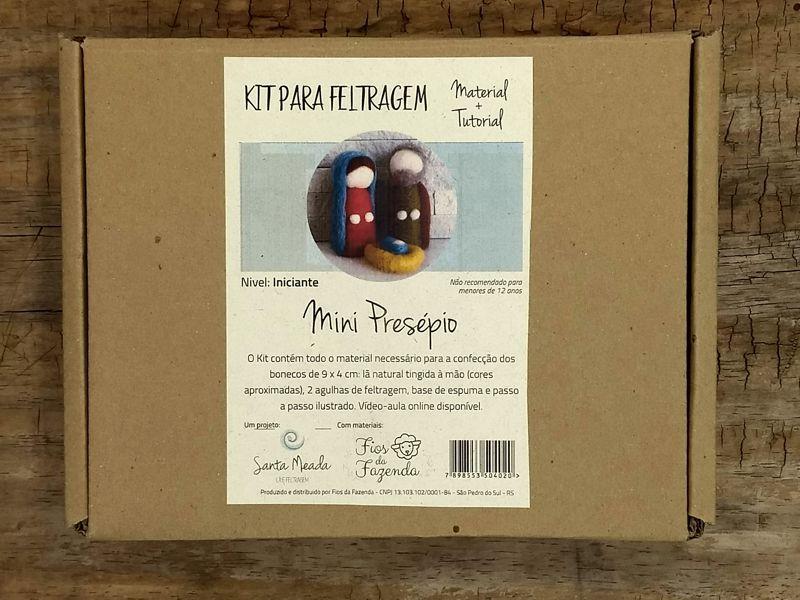 Kit para feltragem - Mini Presépio