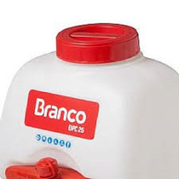 PULVERIZADOR BRANCO BPC-25 27CC 1HP GASOLINA 2 TEMPOS
